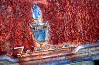 Ford Fairlane Trunk Emblem
