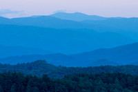 Blue Ridge Mountains - Foothills Parkway, Great Smoky Mountains National Park