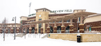 Parkview Field in January