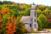 Grand Island East Channel Light - Autumn